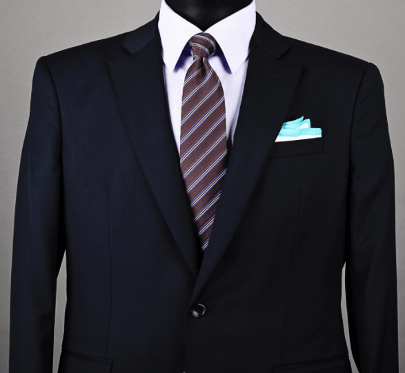 Pocket Square Casual Square Fold Example