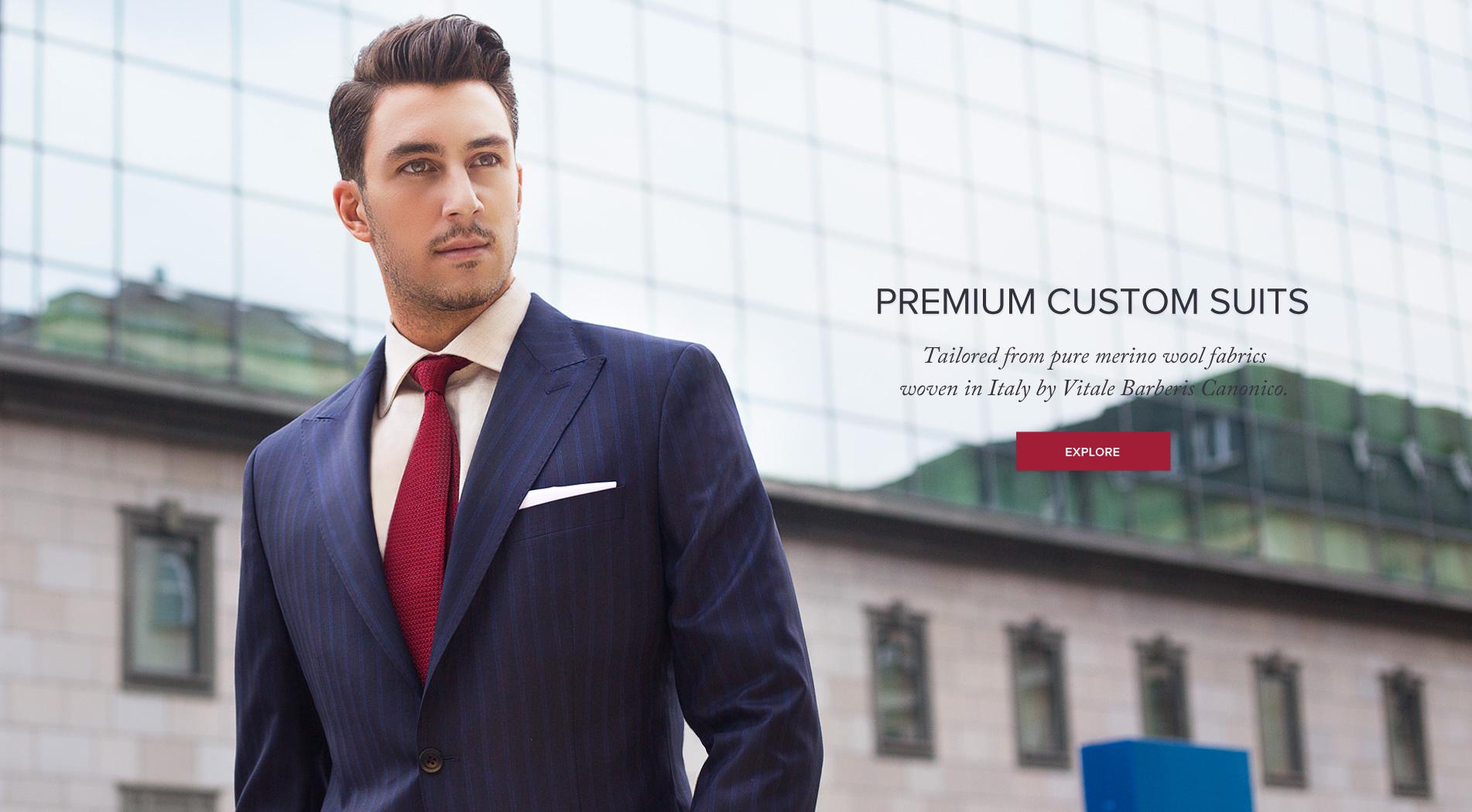 Premium Custom Suits