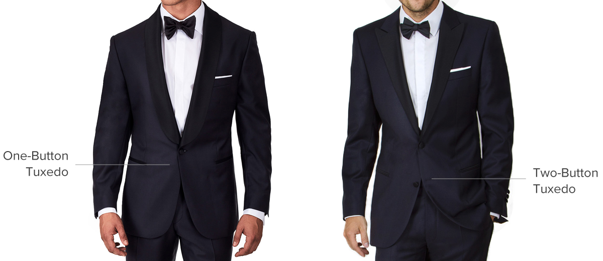One-Button vs. Two-Button Tuxedos