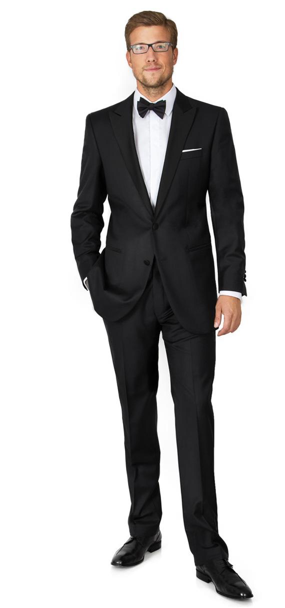 Black Custom Tuxedo