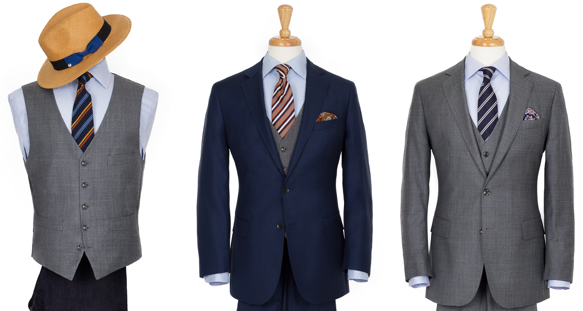 3 piece suit style options