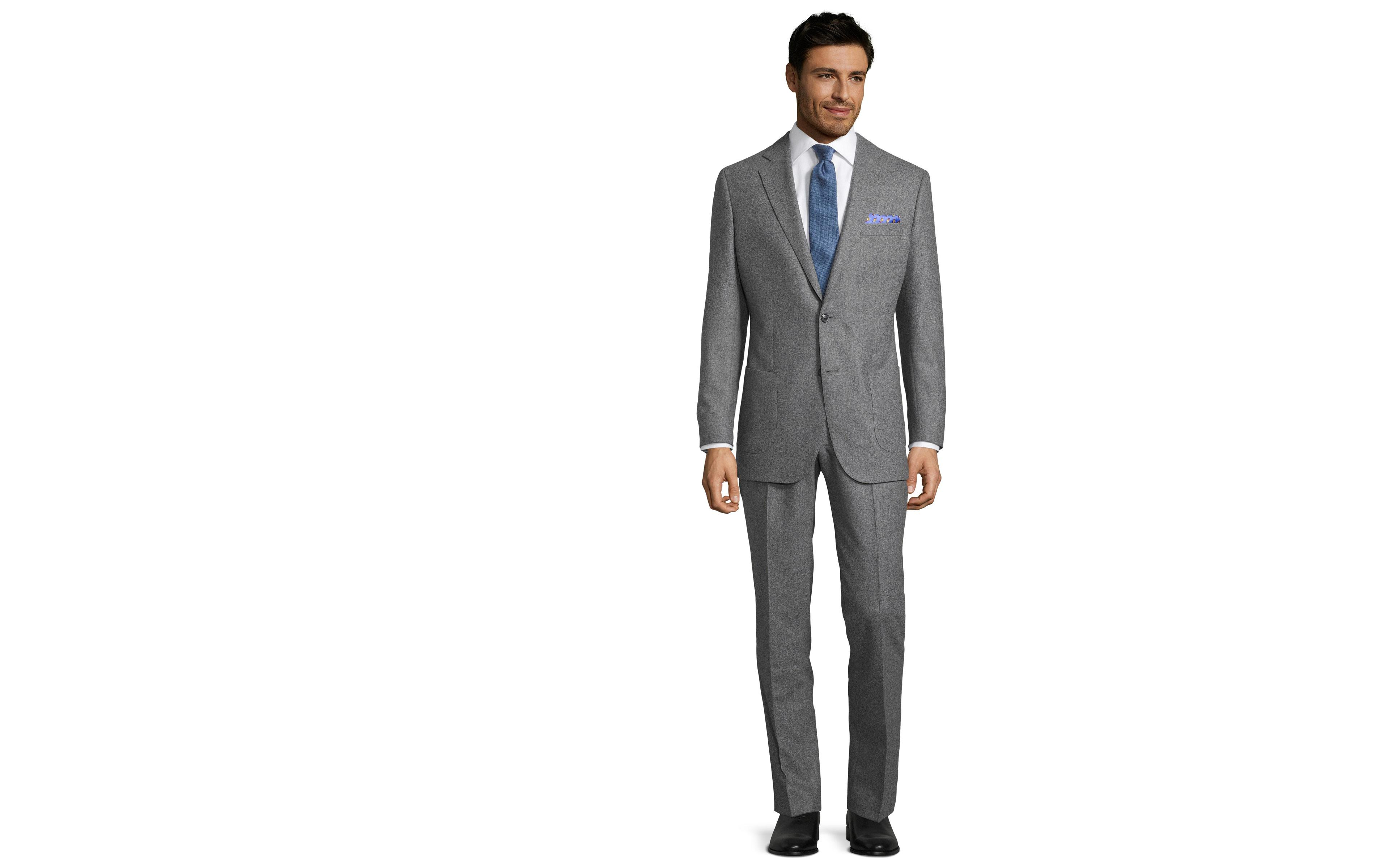 Suit in Grey Flannel