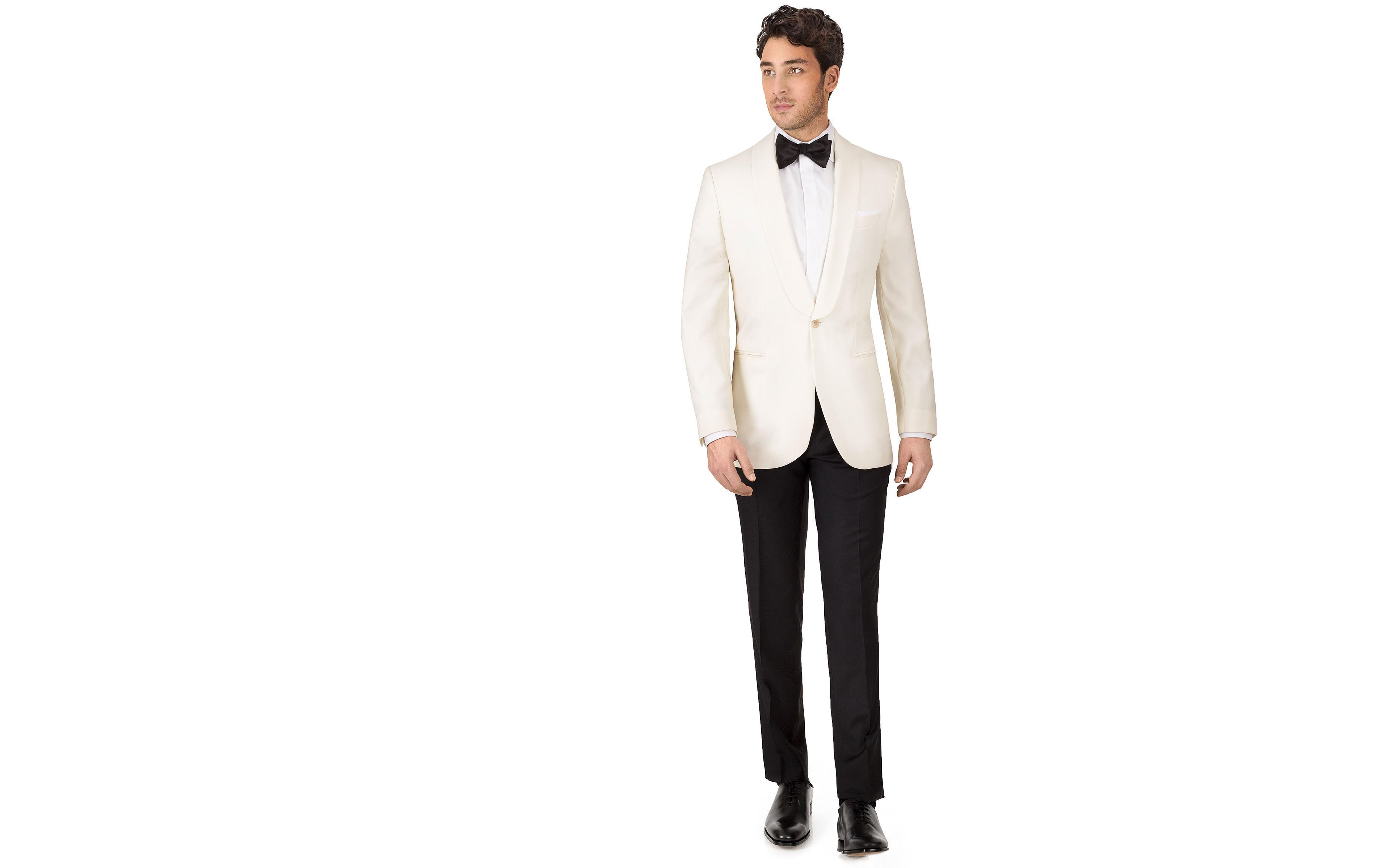 Ivory Dinner Suit