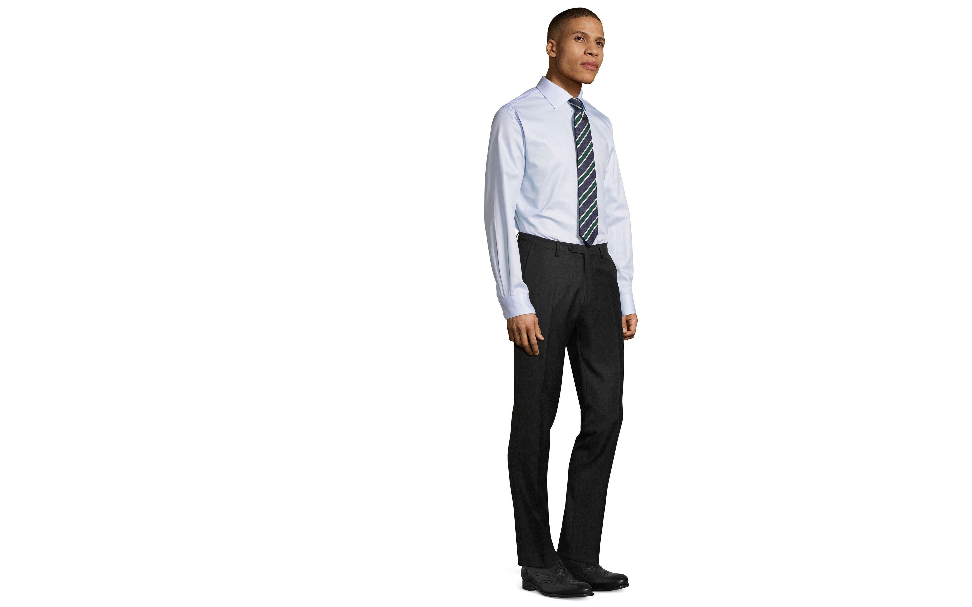 Charcoal Pick & Pick Dress Pants