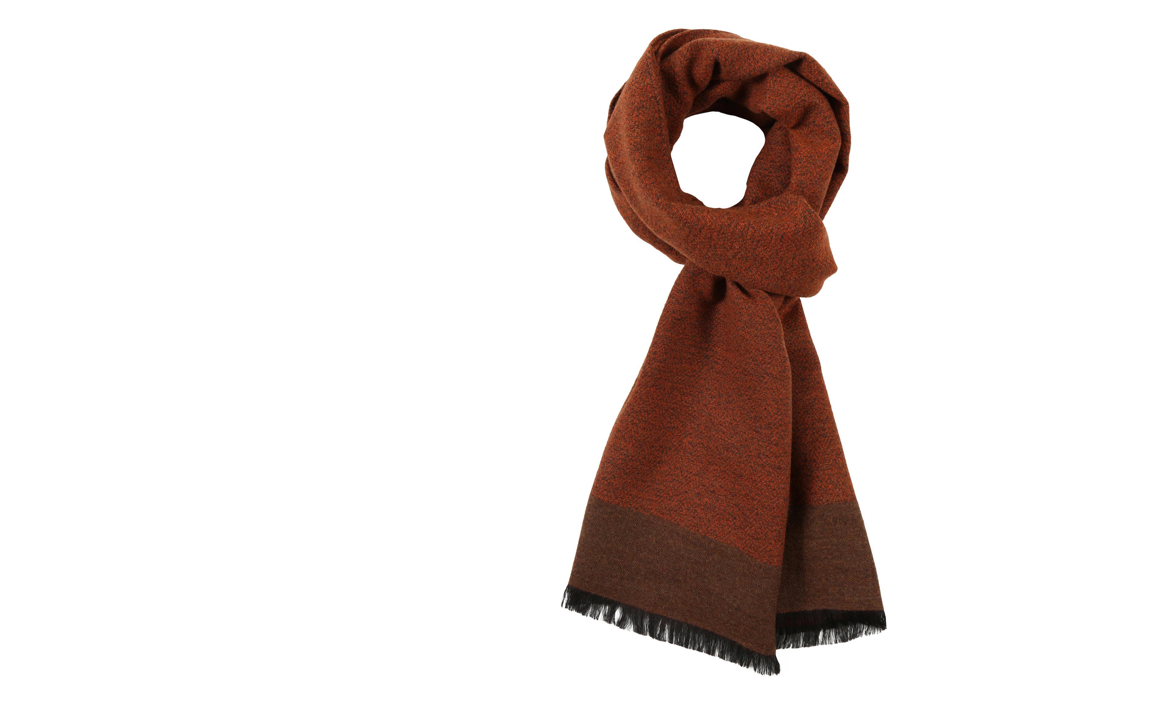 Copper Wool & Silk scarf
