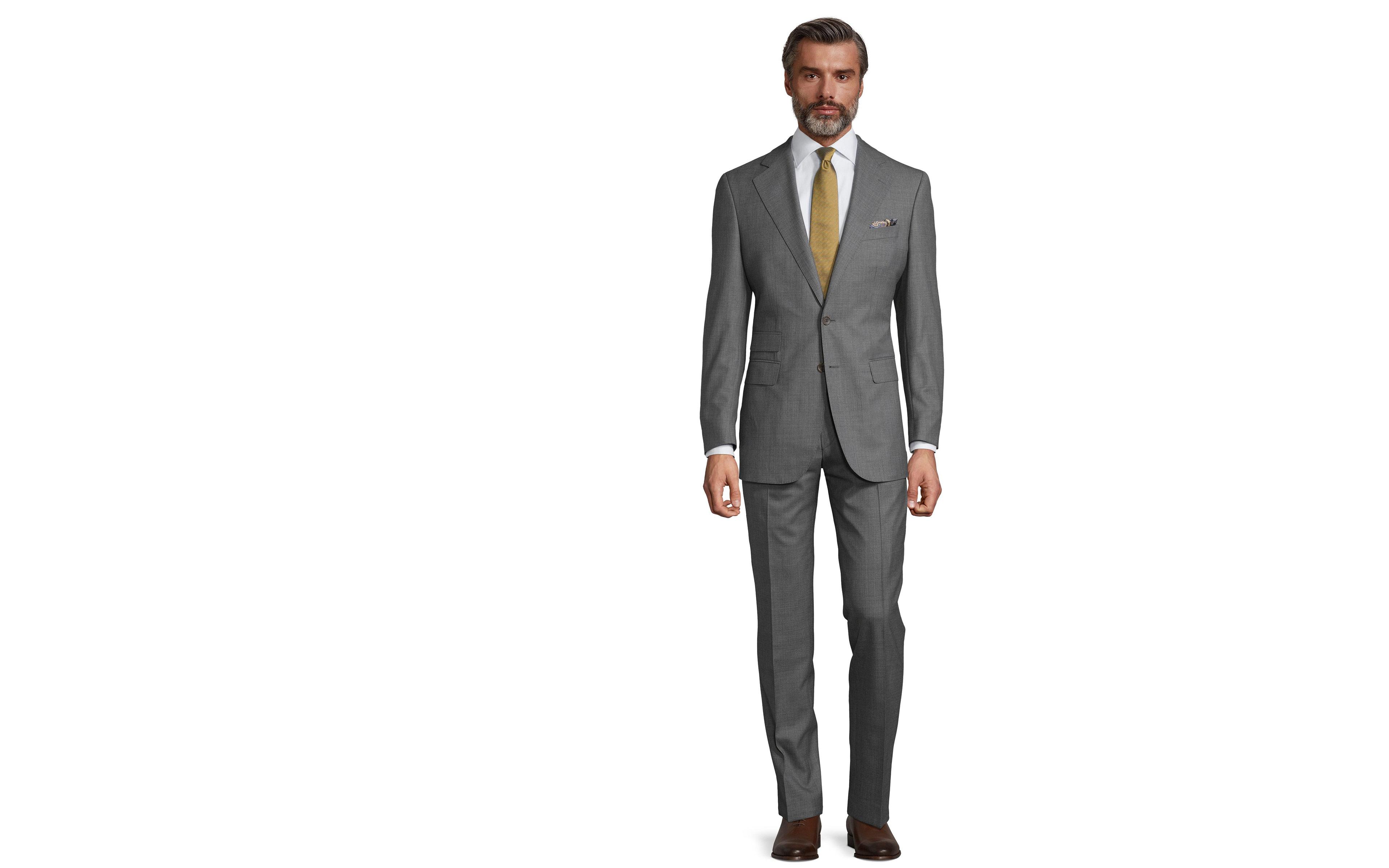 Vendetta Premium Grey Pick & Pick Suit