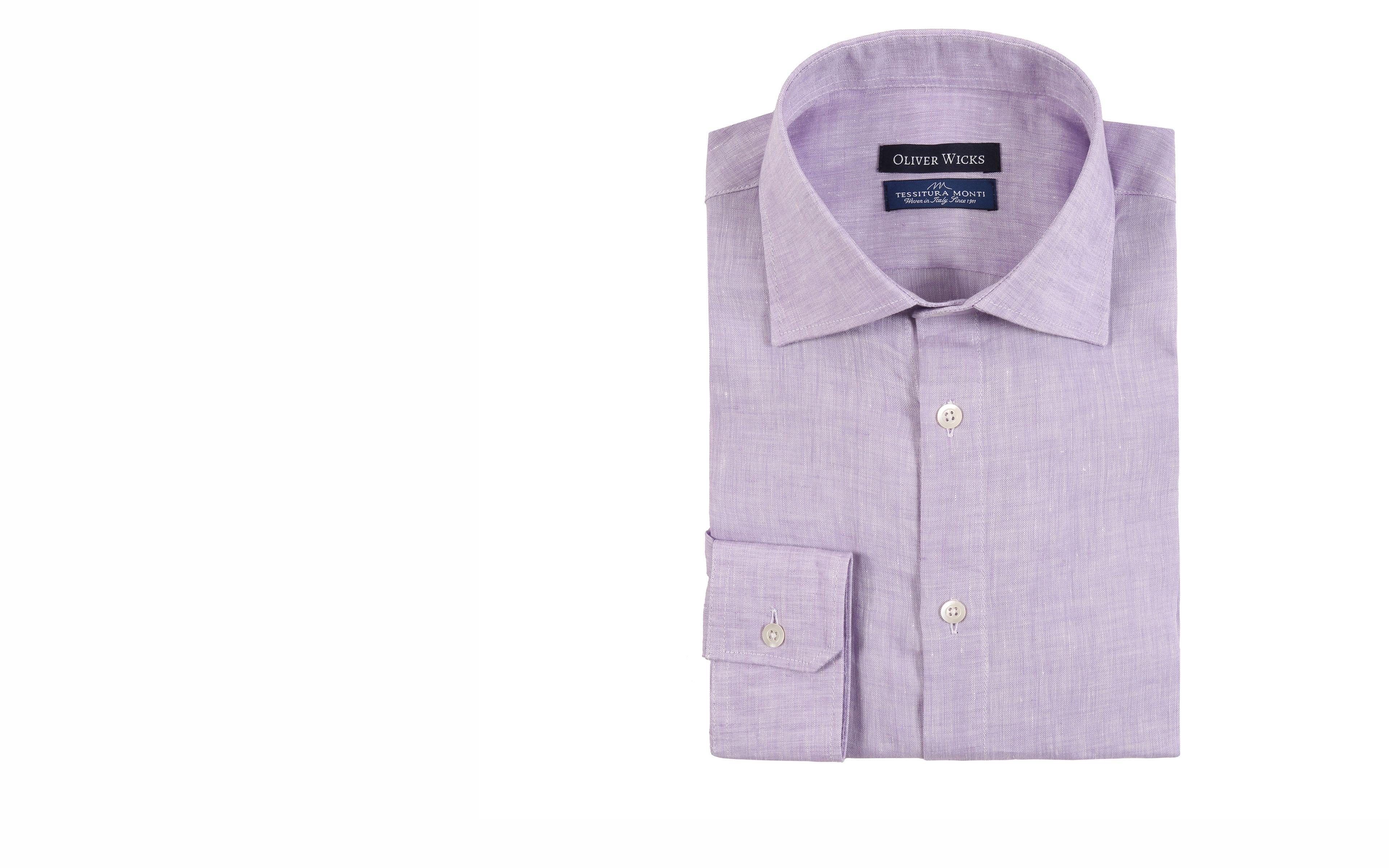 Lavender Linen Shirt