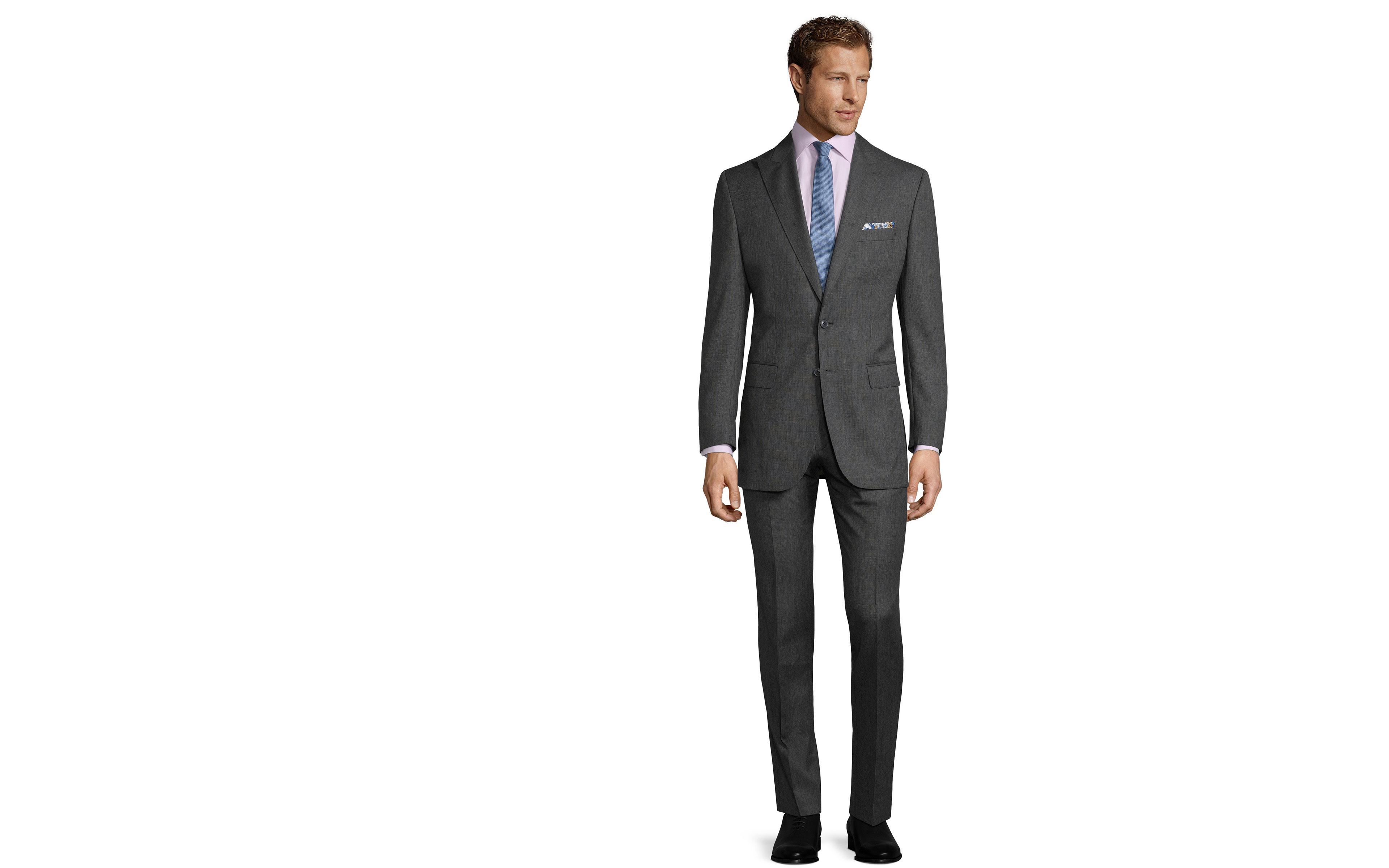Charcoal Melange Suit