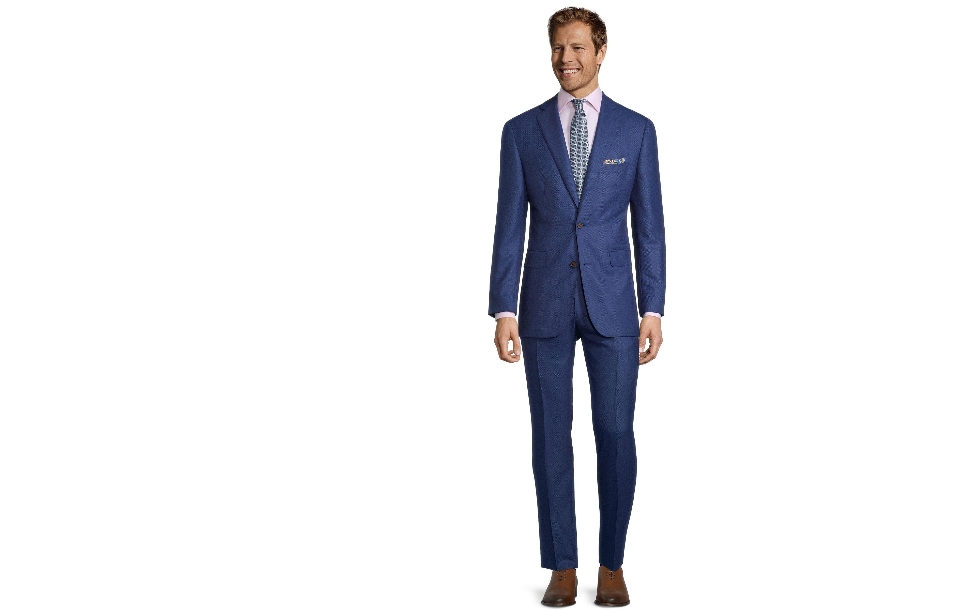 Sartorial Royal Blue Birdseye 160s Suit
