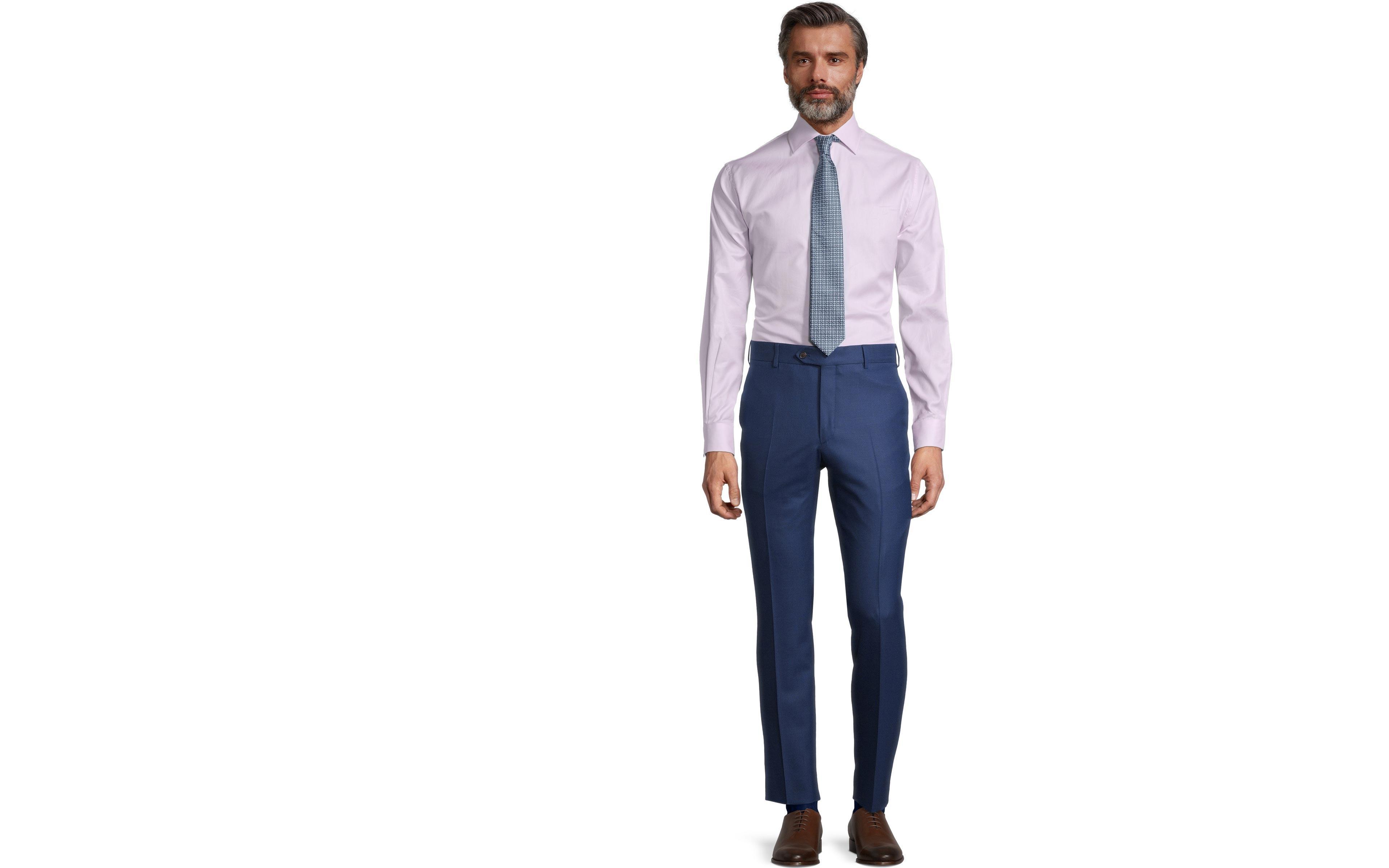 Sartorial Royal Blue Birdseye 160s Pants
