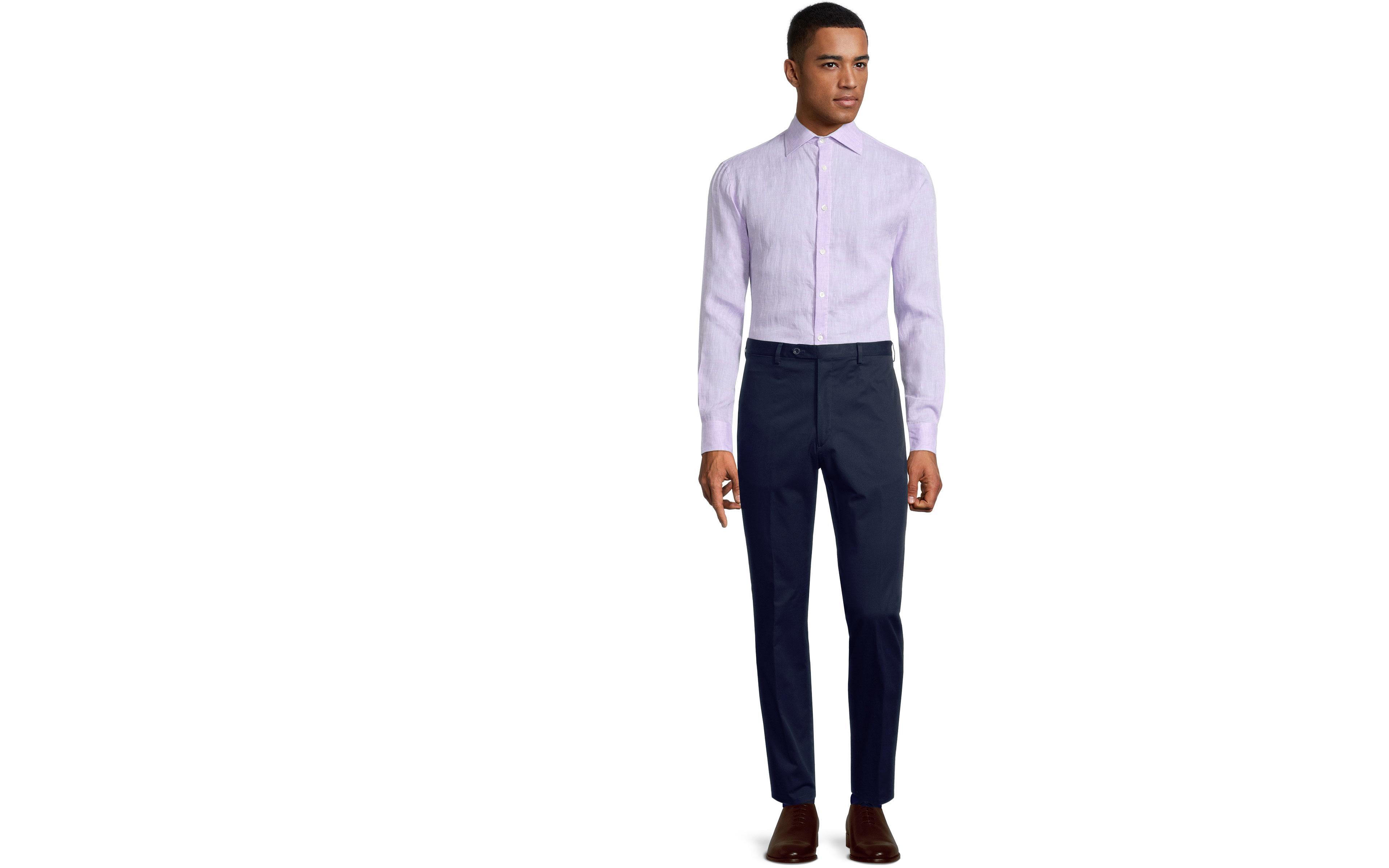 Deep Blue Chino Pants