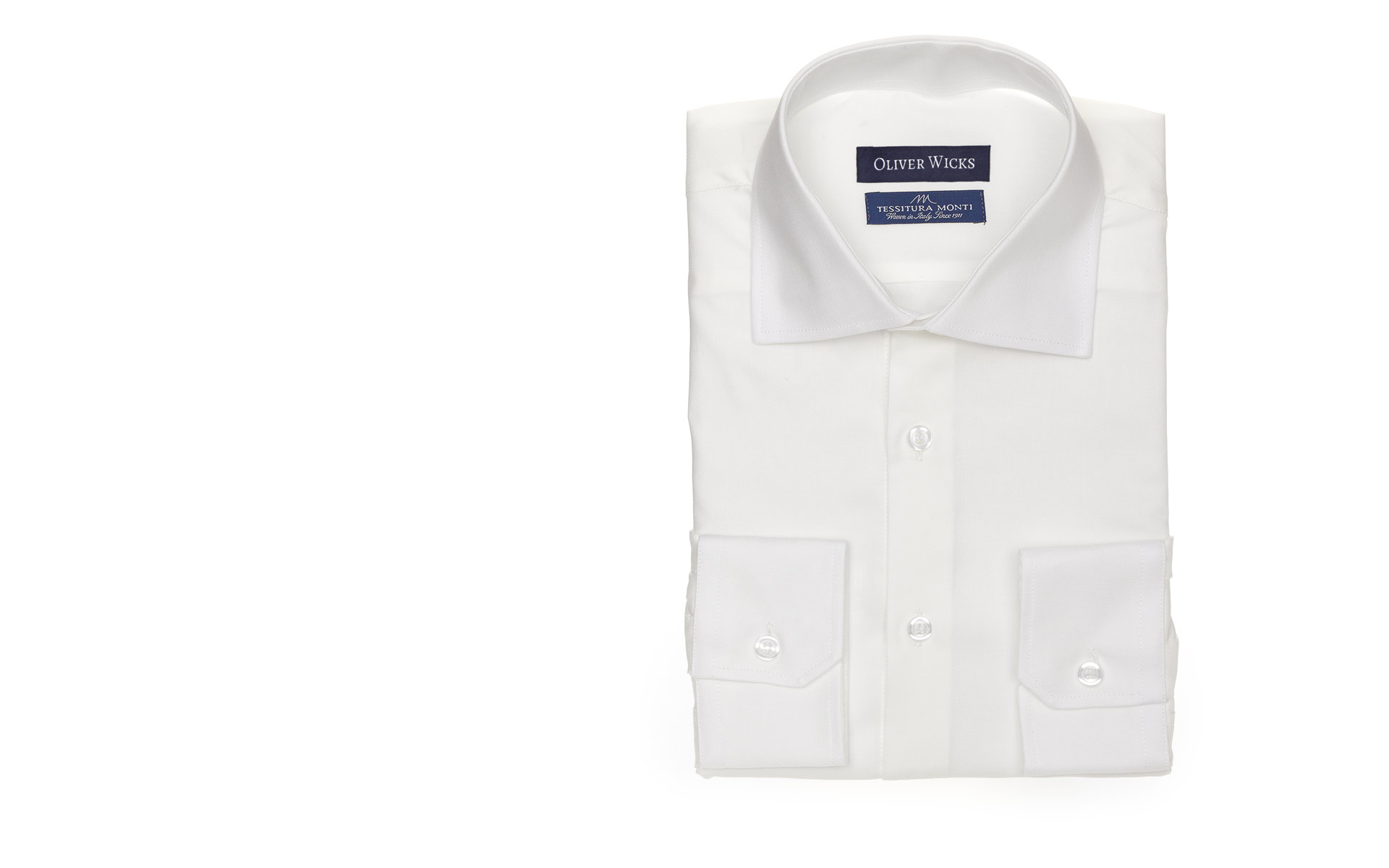 Ivory Cotton Royal Oxford Shirt