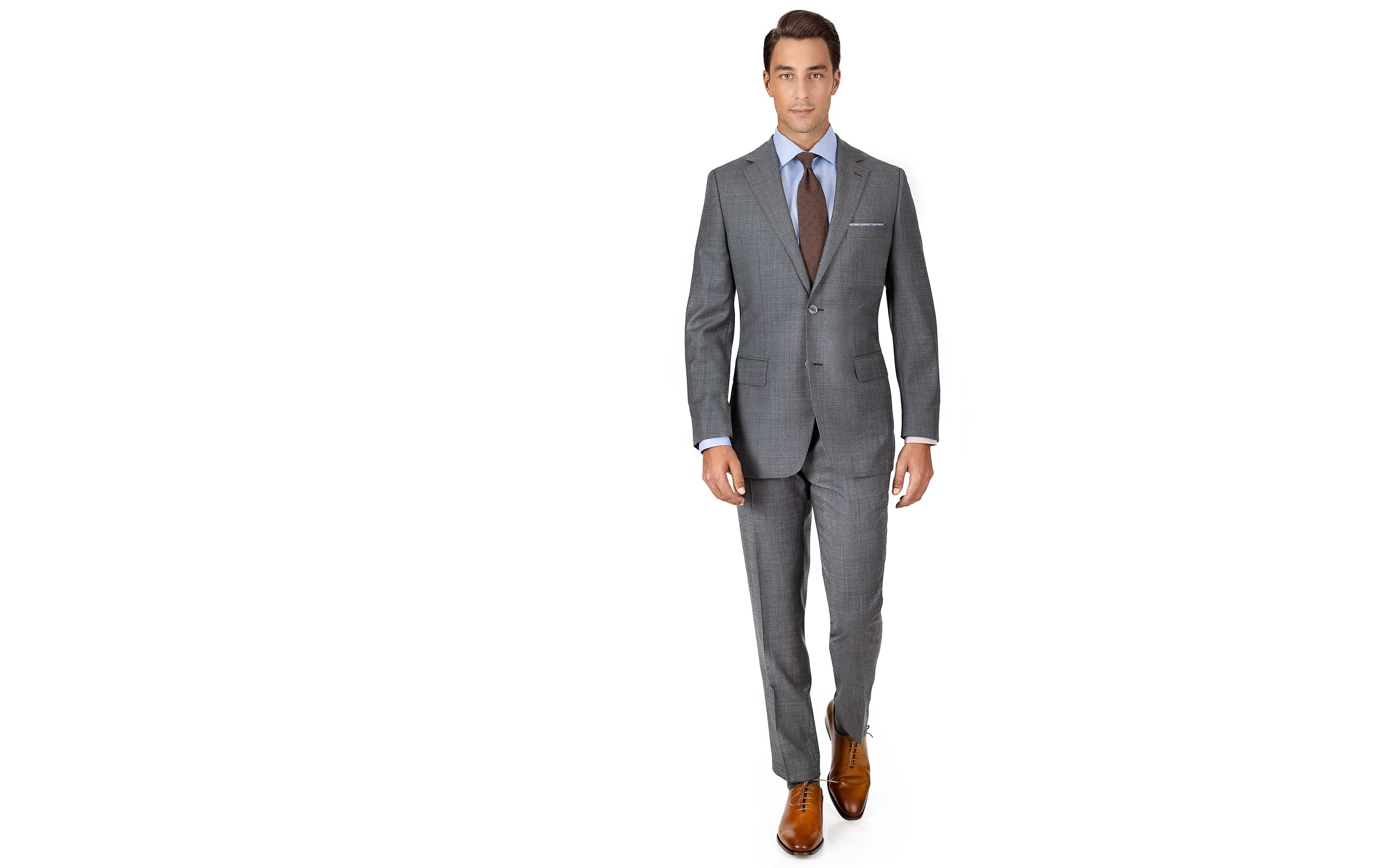 Grey Pick & Pick Suit