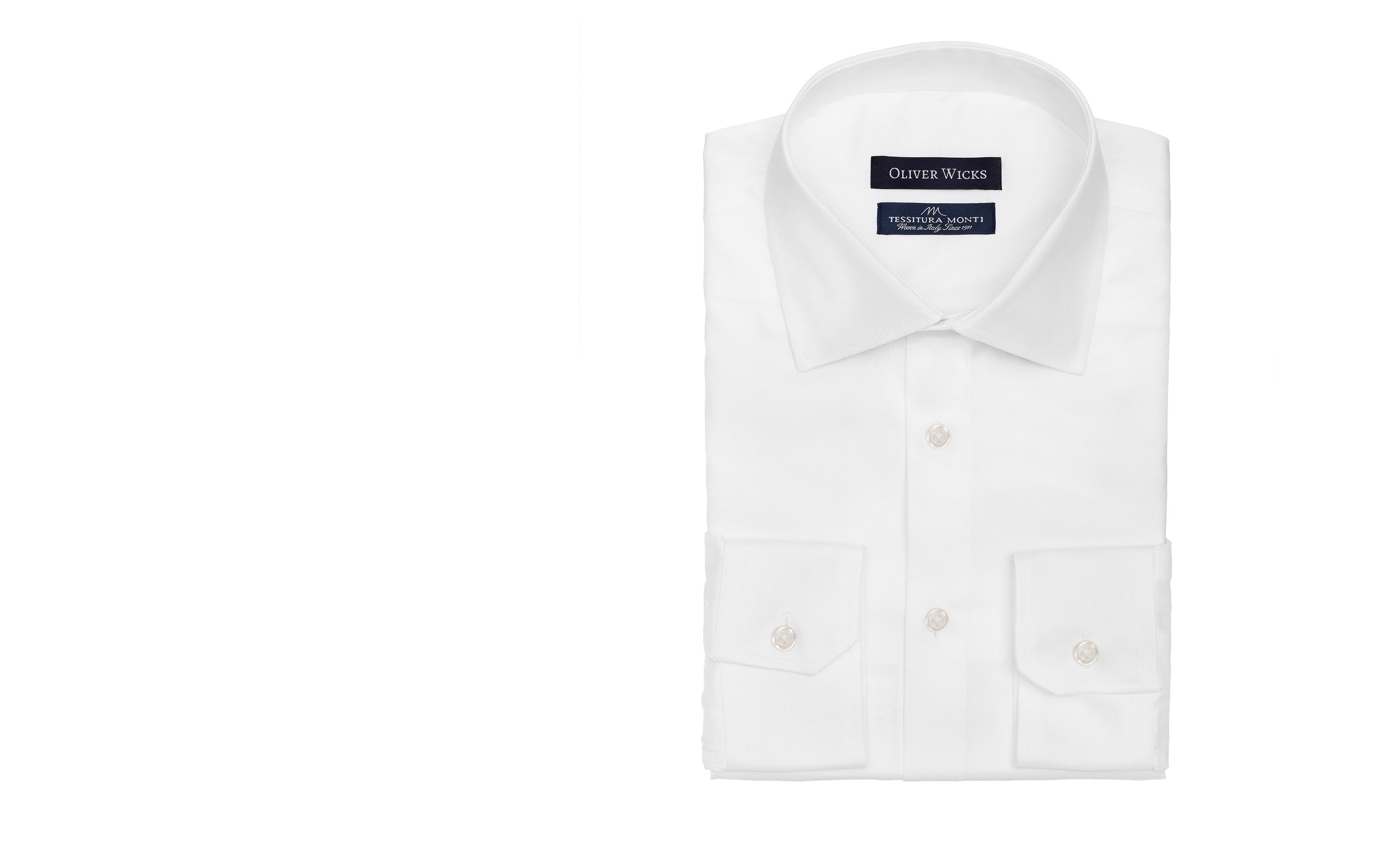 White Cotton Royal Oxford Shirt
