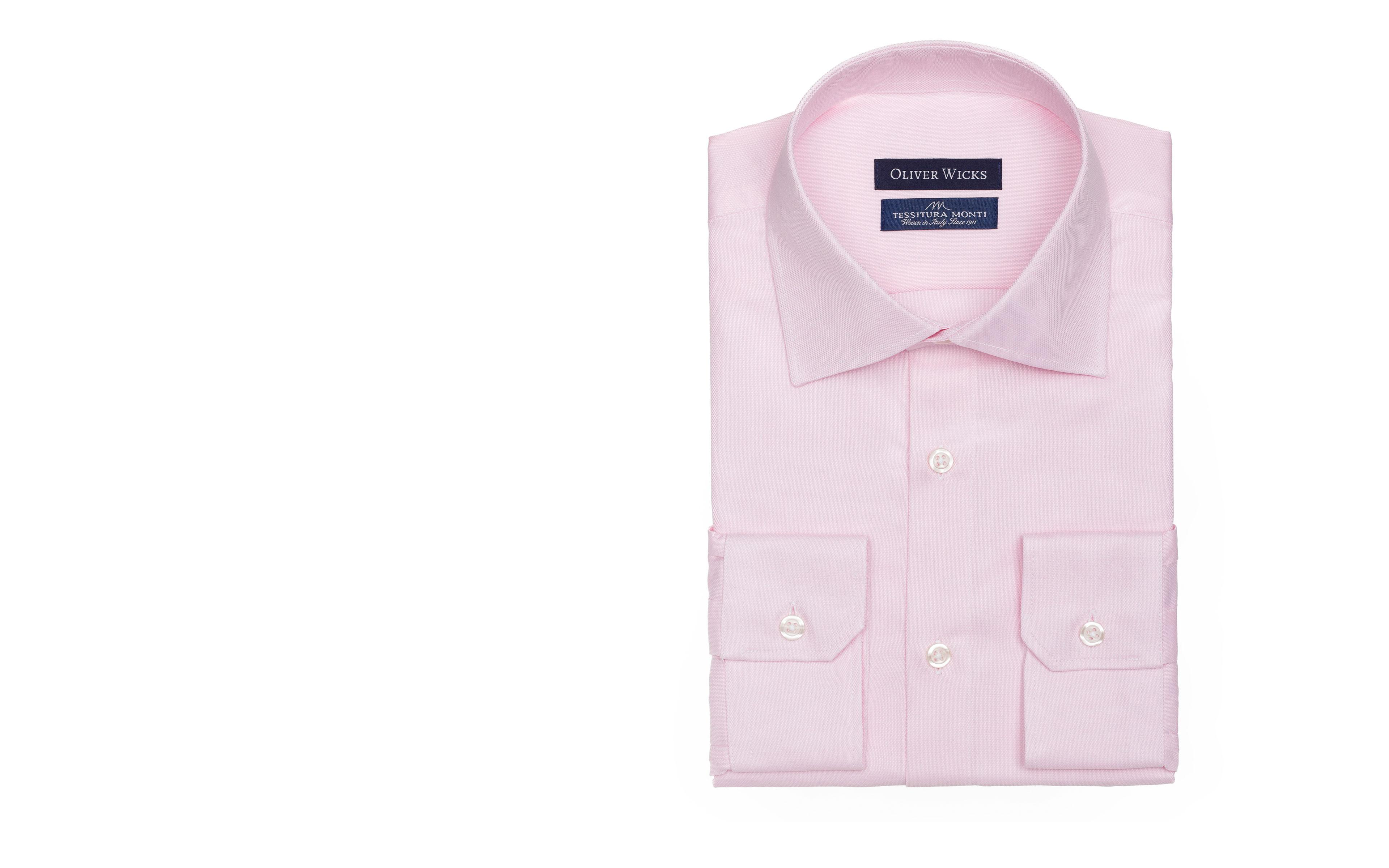 Salmon Two-Ply Cotton Royal Oxford Shirt