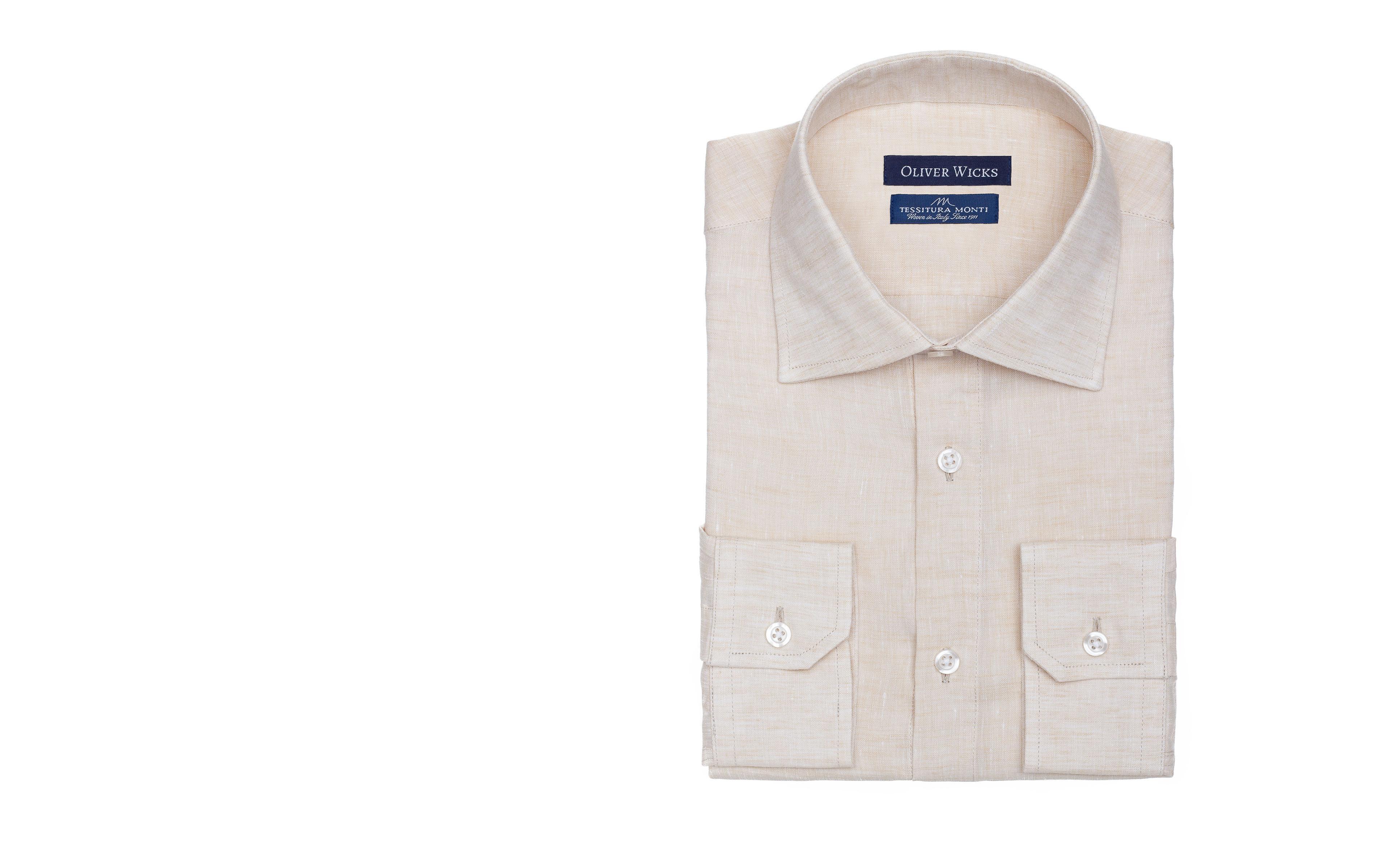 Natural Linen Shirt