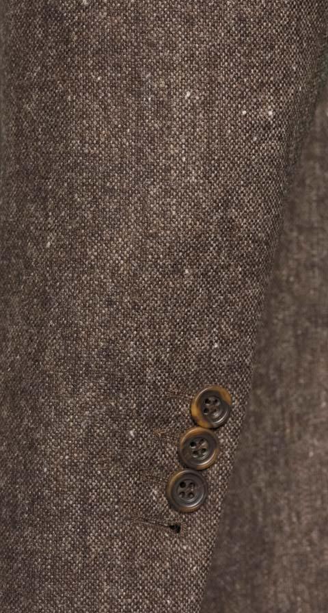 THE W. Suit in Natural Brown Tweed
