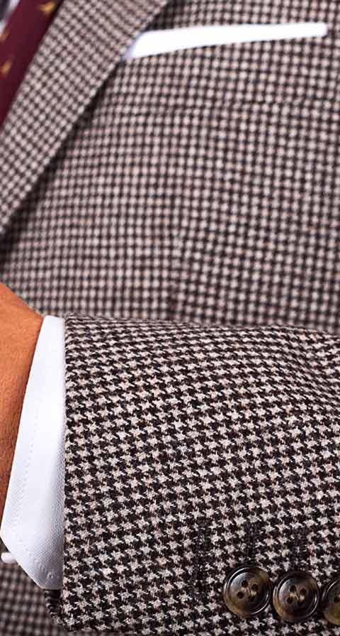 Light Brown Wool & Cashmere Blazer