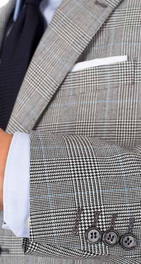 Grey Glen Plaid 3 Piece Suit