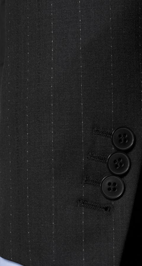Sartorial Charcoal Pinstripe 160s Suit