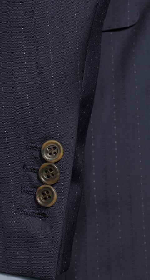 Sartorial Navy Pinstripe 160s Suit