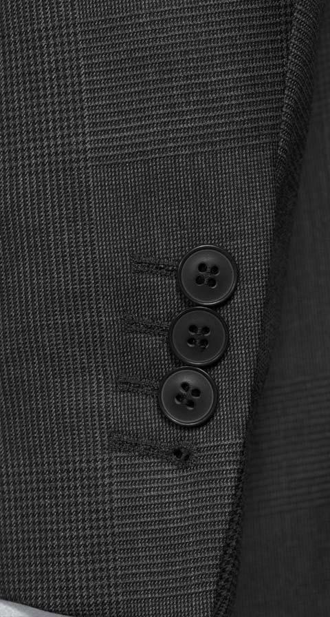 Vendetta Premium Charcoal Plaid Suit