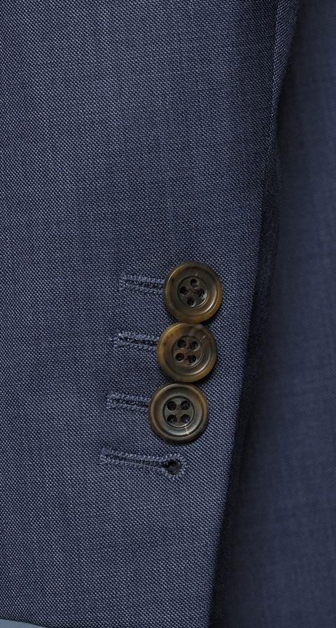 Vendetta Premium Steel Blue Pick & Pick Suit