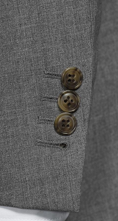 Tropical Chine Ash Grey Suit