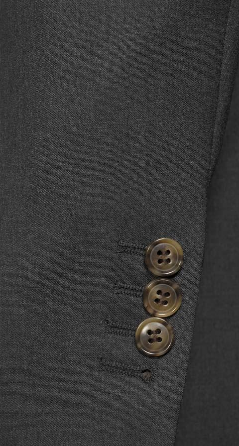Solid Grey Natural Stretch Suit