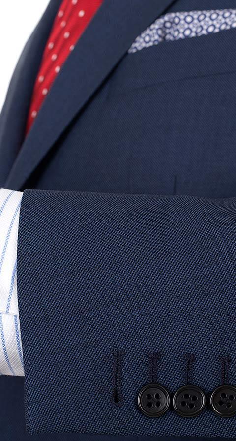 Intense Blue Pick & Pick Suit