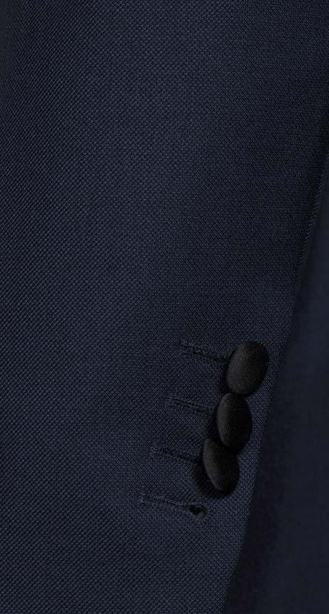 Blue Sharkskin Tuxedo