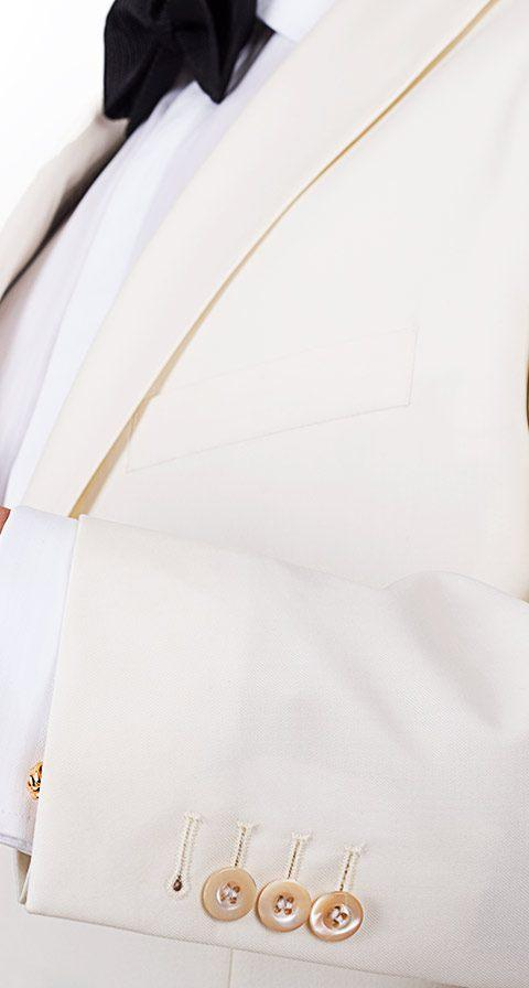 Ivory Dinner Jacket & Dress Pants