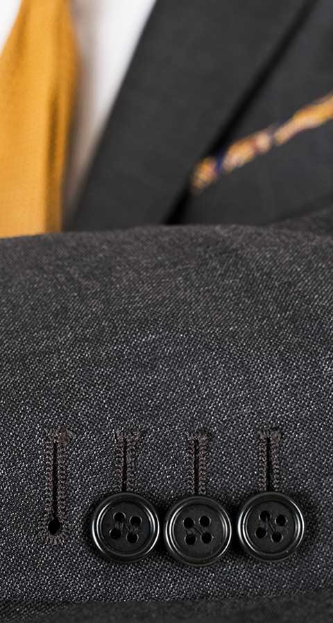 Charcoal Pick & Pick Suit