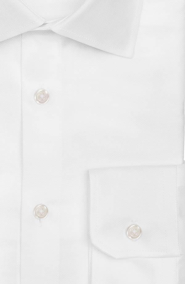 White Cotton Royal Oxford Shirt
