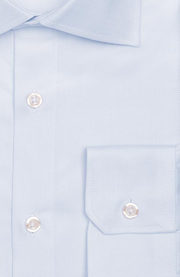 Pastel Blue Cotton Royal Oxford Shirt