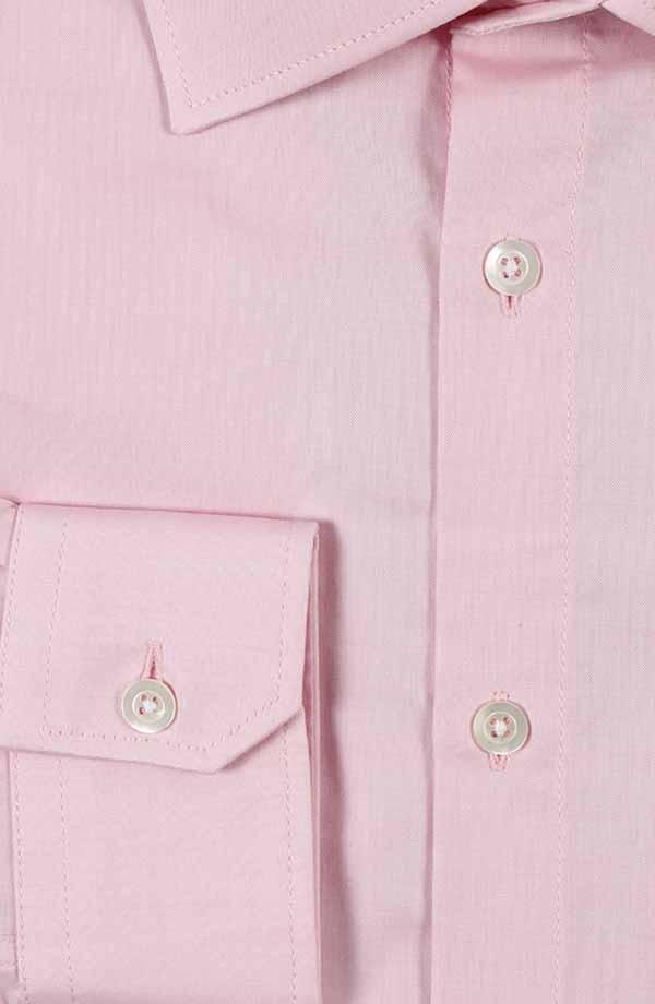 Pastel Pink Pinpoint Oxford Shirt