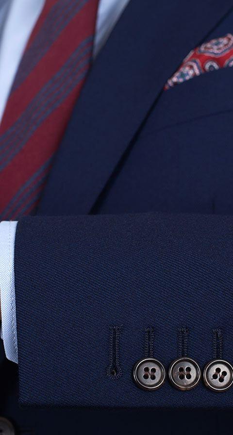 11 oz Navy Twill Suit