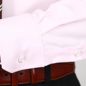Light Pink Two-Ply Cotton Oxford Shirt - thumbnail image 1