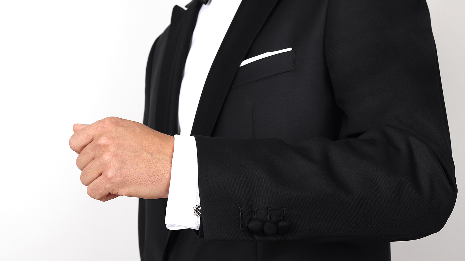 Premium Black 2 Piece Tuxedo - slider image 1