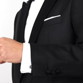 Premium Black 2 Piece Tuxedo - thumbnail image 1