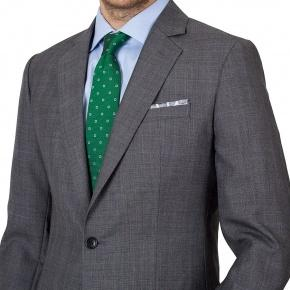 Grey Plaid Suit - thumbnail image 2