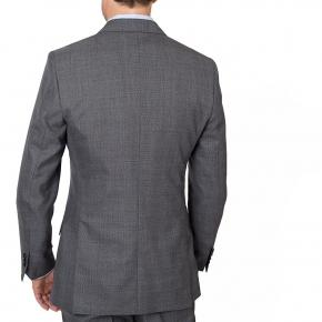 Grey Plaid Suit - thumbnail image 3