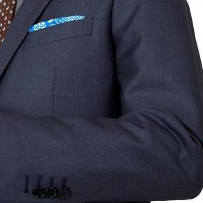 Premium Charcoal Blue Suit - thumbnail image 1