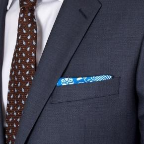 Premium Charcoal Blue Suit - thumbnail image 3