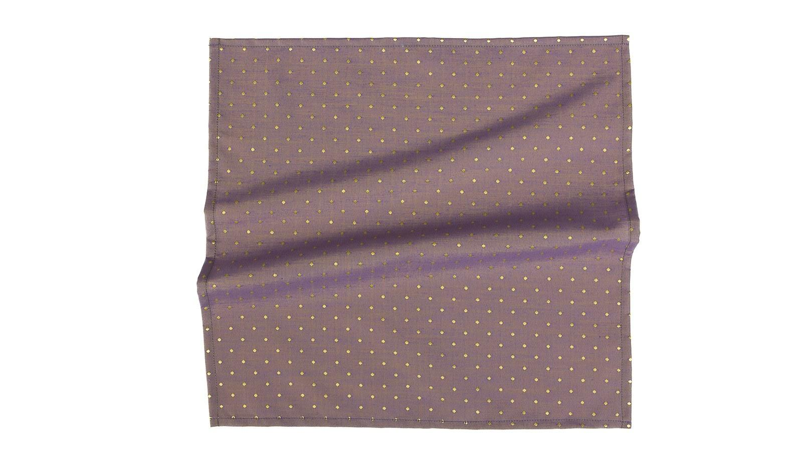 Light Purple Dotted Pocket Square - slider image