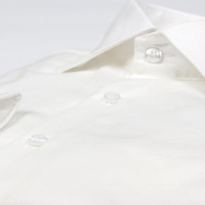 Ivory Cotton Royal Oxford Shirt - thumbnail image 1