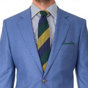 Sky Blue Flannel Suit - thumbnail image 2