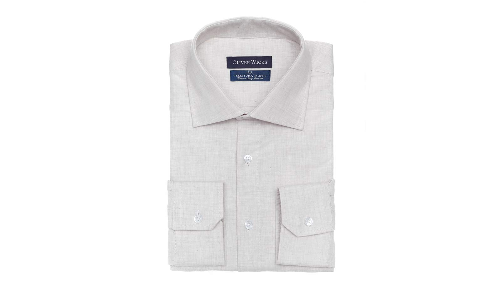 Off-White Flannel Shirt - slider image