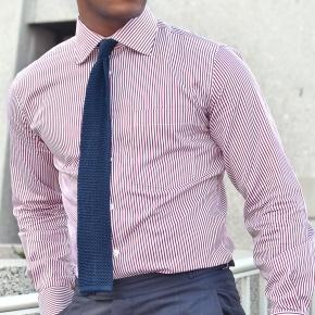 Men's Style Pro Red Striped Shirt - thumbnail image 2