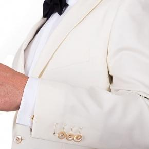 Ivory Dinner Jacket & Dress Pants - thumbnail image 1